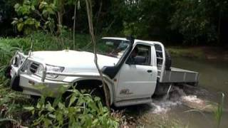 During one of his regular Creek to Coast segments, ARB QLD's Roger ...