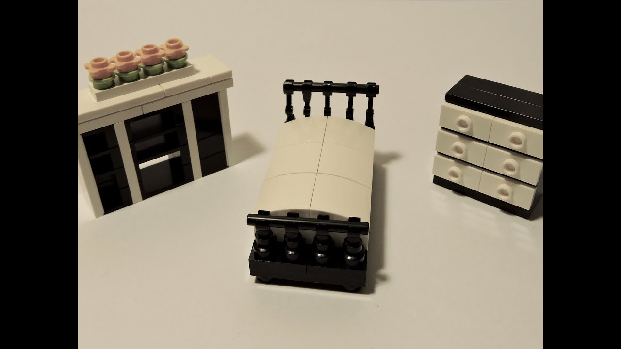 How To Make A Modern Lego Bedroom Set Youtube