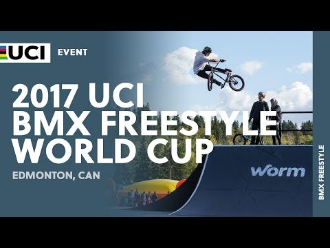 2017 UCI BMX Freestyle World Cup - Edmonton (CAN)