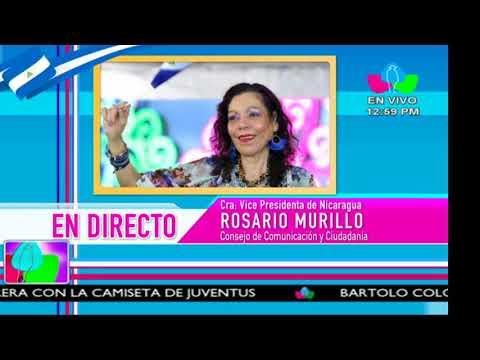 Comunicación con la Vicepresidenta Compañera Rosario Murillo, 18 de Mayo de 2018