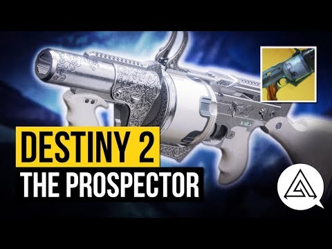 DESTINY 2 | How to Get 'The Prospector' Exotic Grenade Launcher + Gameplay & Perk Overview