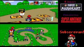 Super Mario Kart, melhor do que a última vez!