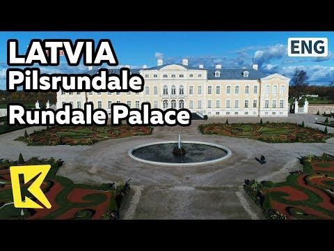 【K】Latvia Travel-Pilsrundale[라트비아 여행-필스룬달레]룬달레 궁전/Rundale Palace/Middle Ages/Versailles/Baltic