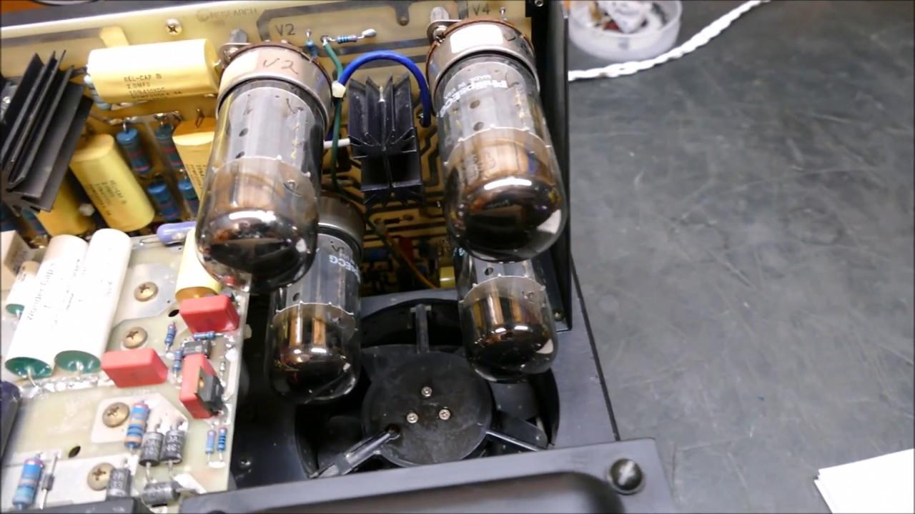 (1 of 2) Audio (Acoustics) Research D125 Vacuum Tube/FET Hybrid Amplifier
