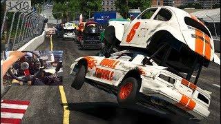 Double Decker Wheel Madness!! WreckFest FINALLY Full Game Release!!