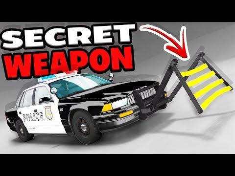 THE POLICE SECRET WEAPON! WHEEL GRABBER...