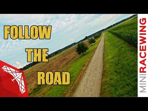 MiniRaceWing - Follow the road