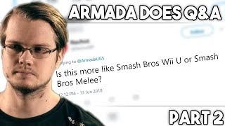 Is the new Smash game more like Smash Wii U or Smash Bros. Melee, QnA Part 2