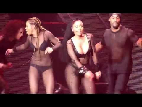 Nicki Minaj Moment For Life - The Pinkprint Tour O2 Arena London