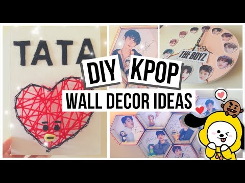 2019 KPOP Wall Decor Ideas (BTS, EXO, The BOYZ)
