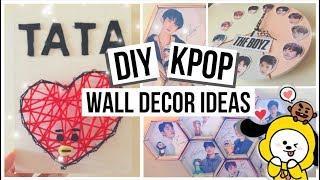 2019 Kpop Wall Decor Ideas Bts Exo The Boyz Youtube