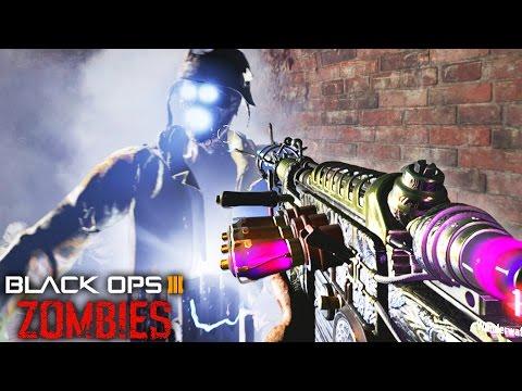 "BLACK OPS 3 ZOMBIES ""ONE WINDOW CHALLENGE"" CUSTOM MAP! - CUSTOM ZOMBIES MOD GAMEPLAY! (BO3 Zombies)"