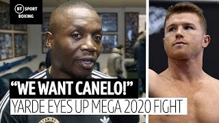 """We want Canelo!"" Anthony Yarde's trainer eyes up a mega 2020 fight"