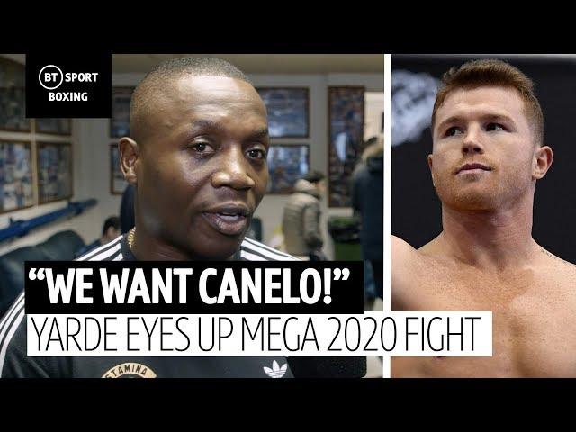 """""""We want Canelo!"""" Anthony Yarde's trainer eyes up a mega 2020 fight"""