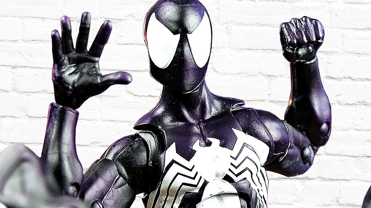Фигурка СИМБИОТА ЧЕЛОВЕКА-ПАУКА от Marvel Legends!