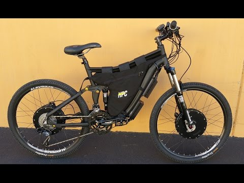 HPC 7000W 2 Wheel Drive XC-2 Electric Bike