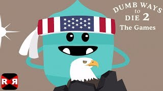 Dumb Ways to Die 2: The Games - iOS / Android - New Map AMERICALAND