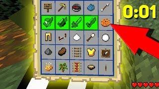 УСПЕЙ СОБРАТЬ ЭТИ ВЕЩИ ИЛИ ПРОИГРАЕШЬ, НОВЫЙ МИНИ ГЕЙМ - Minecraft Bingo