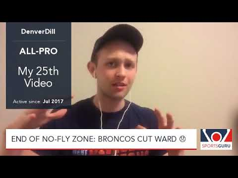 End of No Fly Zone: Broncos cut Ward
