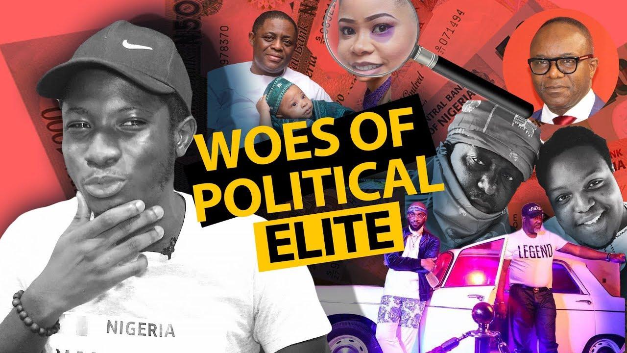 Top 4 Embarrassing Stories of Nigeria's Political Elite