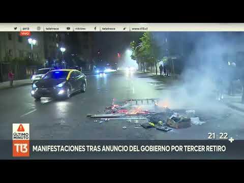 Cacerolazos y barricadas