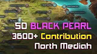 Black Desert Mobile - FREE 50 Black Pearl và hơn 3600 Contribution Point ở North Mediah