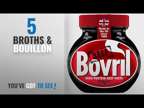 Top 10 Broths & Bouillon [2018]: Bovril Beef Extract, 250g