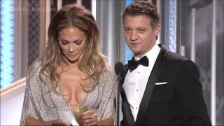 Jennifer Lopez & Jeremy Renner   You Got The Globes Too;