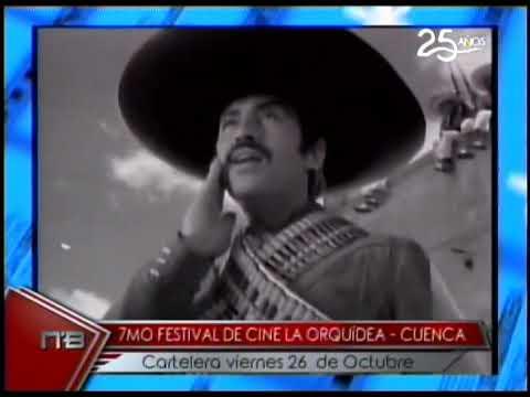 7mo Festival de Cine La Orquídea - Cuenca cartelera viernes 26 de Octubre