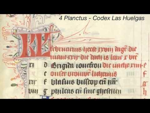 4 Planctus - Codex Las Huelgas