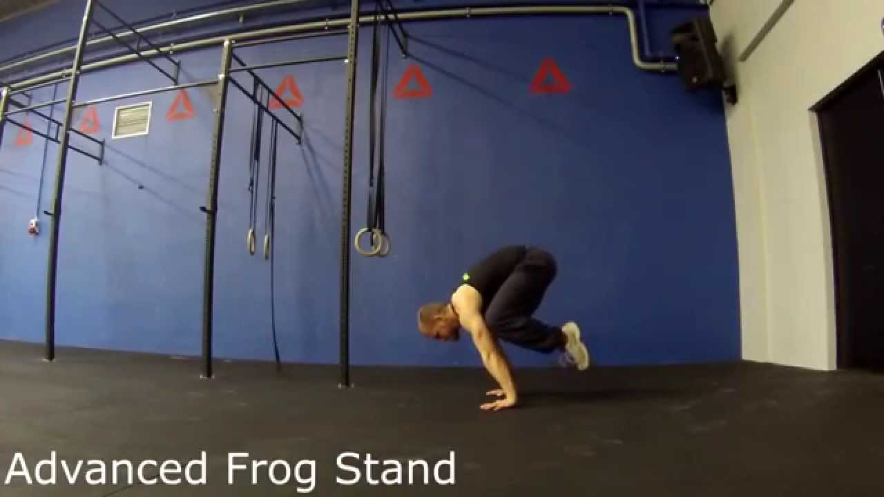 Advanced Frog Stand advanced frog stand - youtube