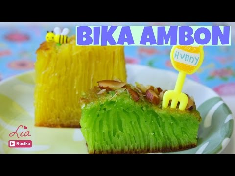 How to make Bika Ambon Cake | Indonesian Honeycomb Cake