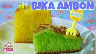 How to make Bika Ambon Cake   Indonesian Honeycomb Cake
