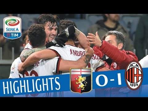 Genoa - Milan 0-1 - Highlights - Giornata 28 - Serie A TIM 2017/18