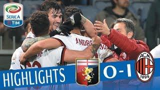 Genoa - Milan 0-1 - Highlights - Giornata 28 - Serie A TIM 201718