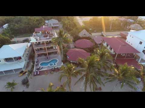 Beaches & Dreams, Hopkins Belize Resort - Aerial Drone View