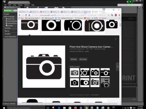UE4 Tutorial / 8 Screenshot in Game - Ra Ros