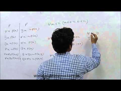 Negation of Proposition, Mathematical Logic, Propositions, Conjunction | 17