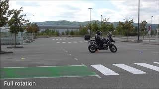 Stage perfectionnement Maniabilité moto  BMW R 1200 GS