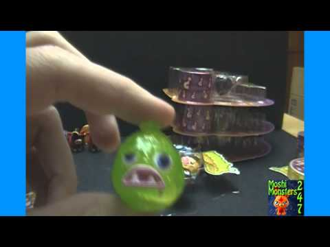 Moshi Monsters Moshlings Series 2 Blister Pack BOX Opening