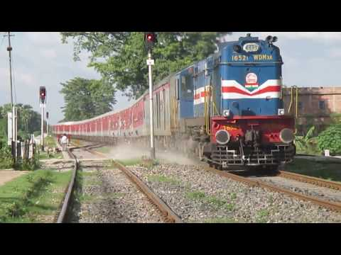 (HD) INDIAN RAILWAYS - High Speed Diesel Actions !!