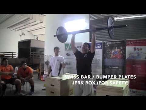 MF Challenge 2: Swiss Bar Push Press (1 Rep Max)