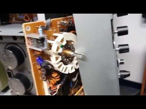 Onkyo A-809 Amp switch cleaning