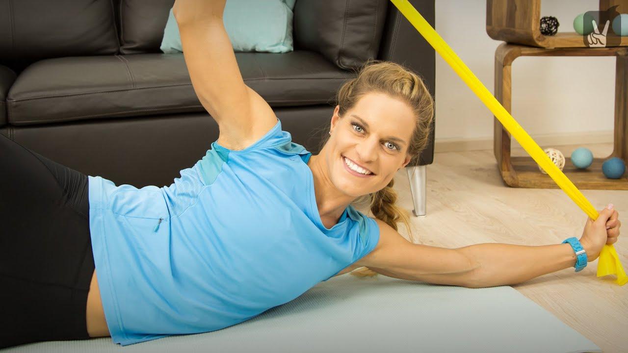 Cardio zum Abnehmen von Armen und Rückenübungen