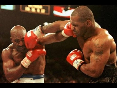 Mike Tyson Vs Evander Holyfield Highlight Youtube