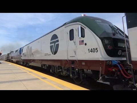 Railfaning 4/15/16 Feat Amtrak Cascades Siemens Chargers, Caltrain, Amtrak and MORE