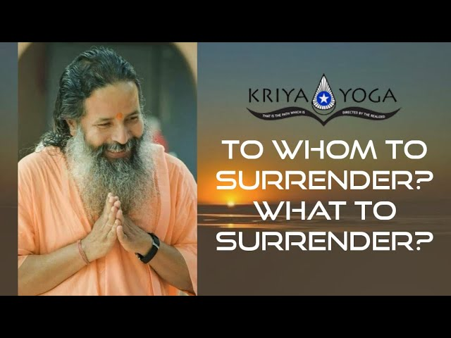 To Whom to Surrender? What to Surrender?