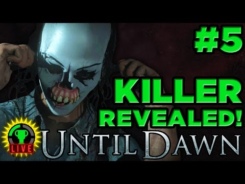 GTLive: Until Dawn - The Killer's CRAZY Secret Revealed (Part 5)