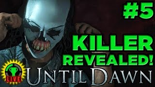 GTLive: Until Dawn - The Killer's CRAZY Secret Revealed (Part 5)