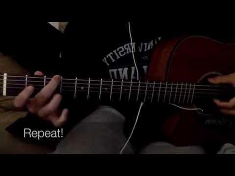 Clocks Go Forward - James Bay (Guitar intro playthrough/tutorial)